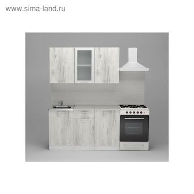 Кухонный гарнитур Алина медиум, 1400 мм