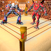 Futuristic Robot Wrestling : WWD Ring Fighting