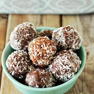 Coconut Carob Truffles.