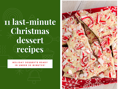 11 Last-Minute Christmas Dessert Recipes