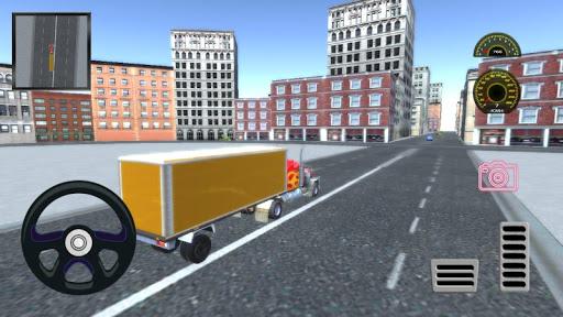 Real Truck Simulator  screenshots 4