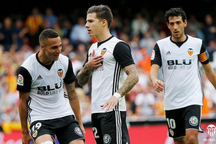 Valencia ontzegt Athletic Bilbao de leidersplaats na enerverende wedstrijd