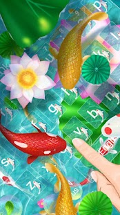 Klávesnice Green Lotus Fish - náhled