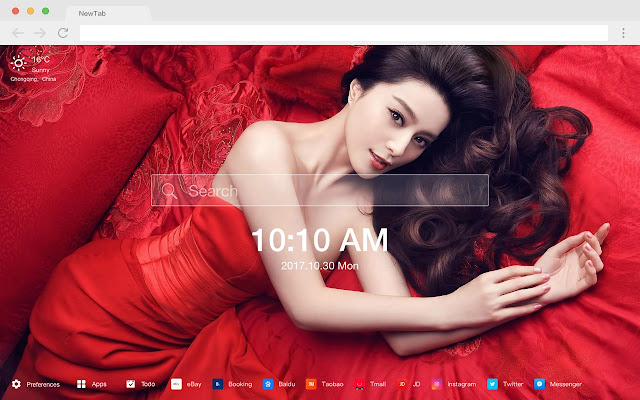 Chinese New Tab Page HD Wallpapers Themes