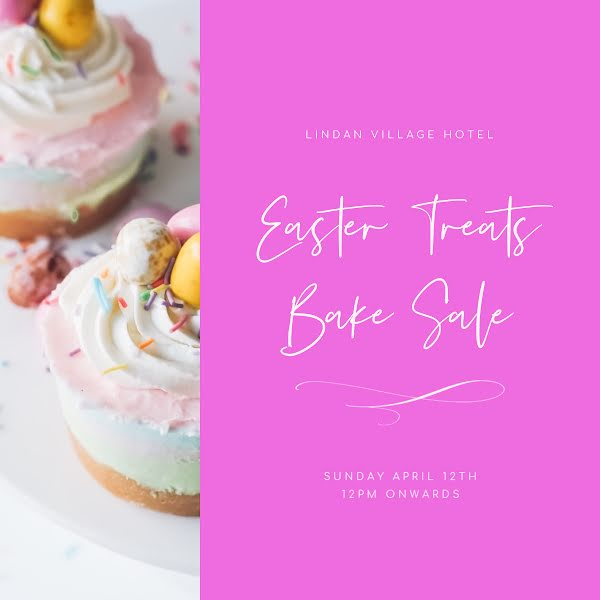 Easter Treats Bake Sale - Instagram Post Template