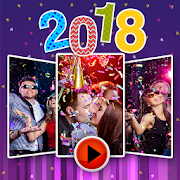 New year Movie Maker 2018