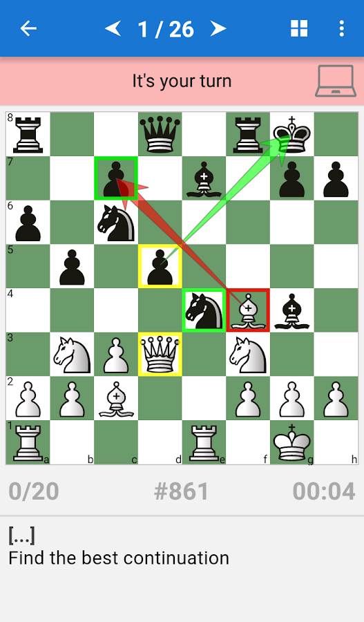 Chess Middlegame II- screenshot