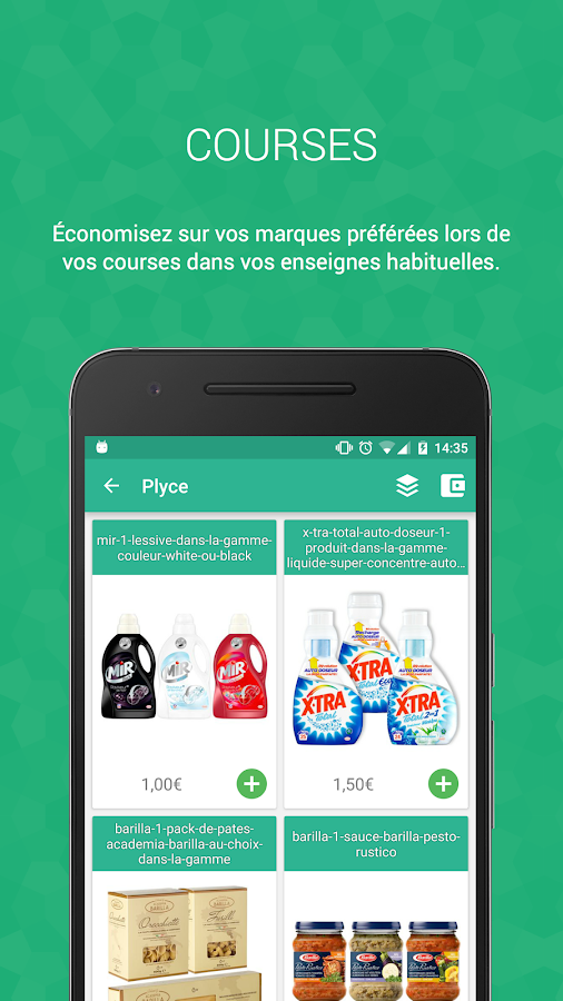 Plyce - Coupons, prix essence- screenshot