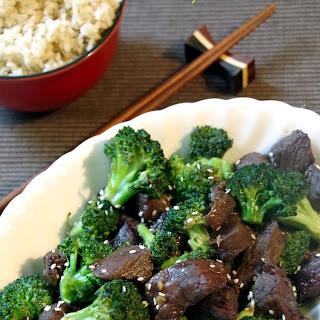 Teriyaki Beef and Broccoli with Brown Rice