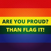 Be Proud! LGBT flag