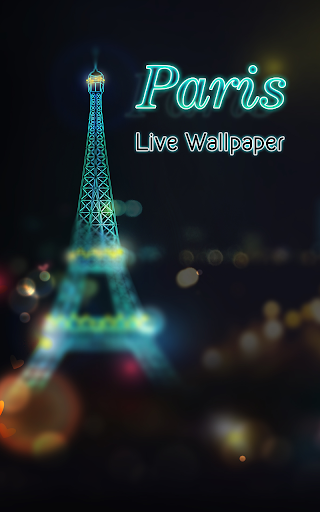 Paris Lights Live Wallpaper