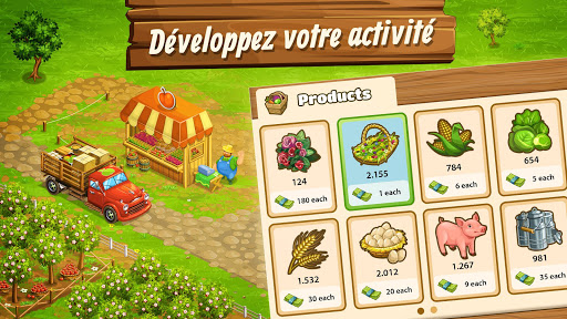 Télécharger Big Farm: Mobile Harvest | jeu de ferme gratuit apk mod screenshots 4