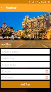 Roamer App - náhled