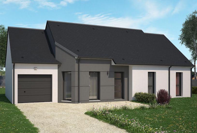 Vente Terrain + Maison - Terrain : 1200m² - Maison : 88m² à Candé (49440)