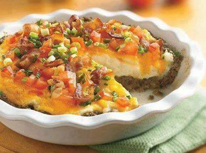 Sausage And Veg Pie Recipe