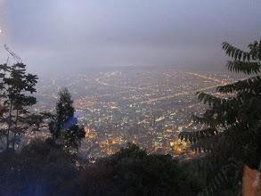 Photo: Bogota by night