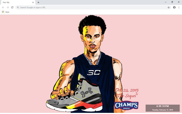 Steph Curry New Tab & Wallpapers Collection