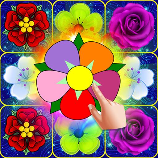 Flower Crush Match 3 Game