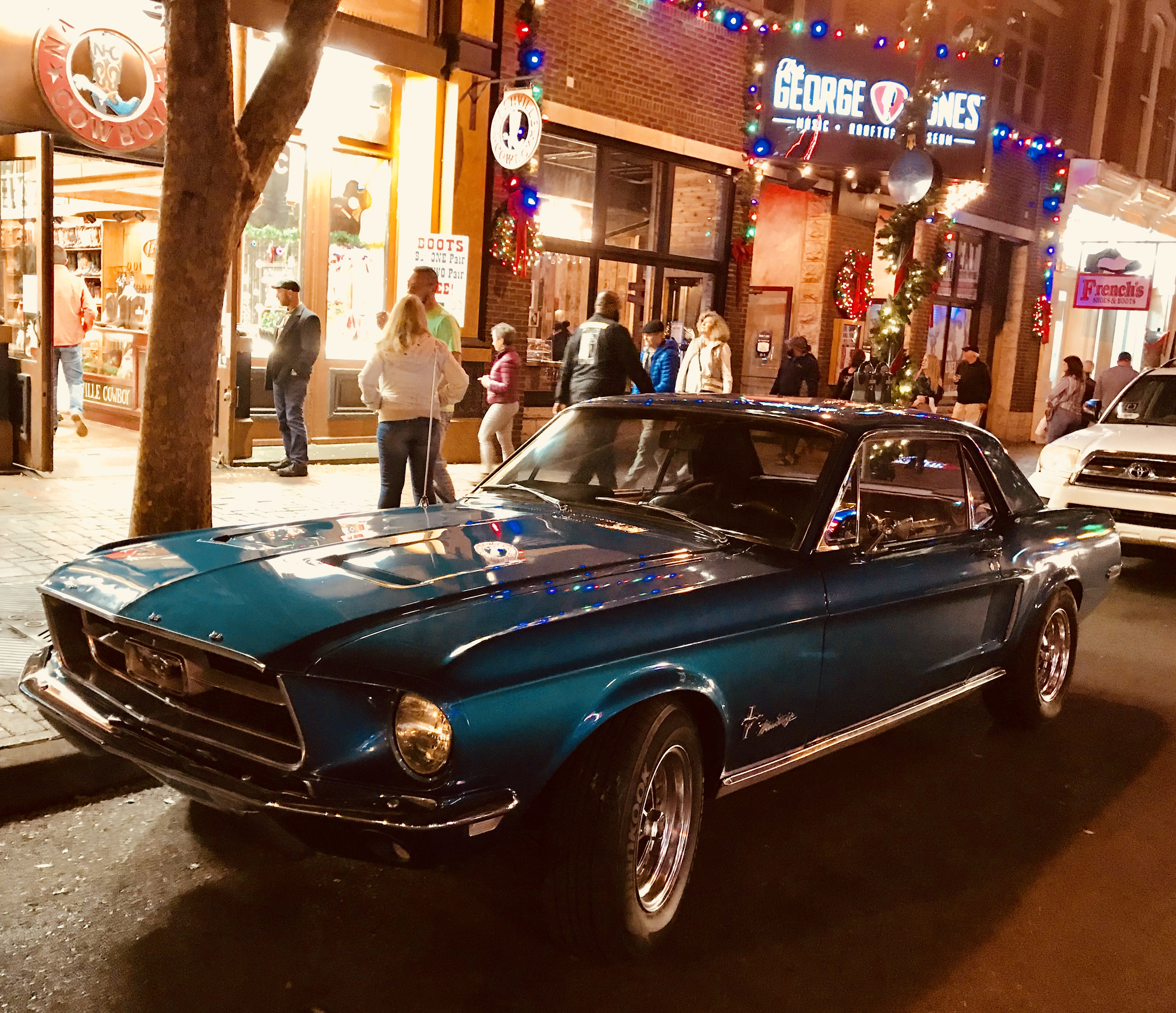Ford Mustang Hire Nashville