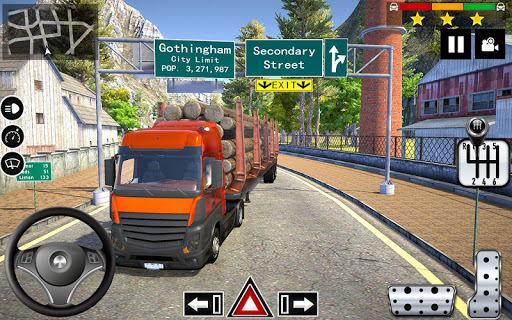 Cargo Delivery Truck Parking Simulator Games 2020 1.11 screenshots 3