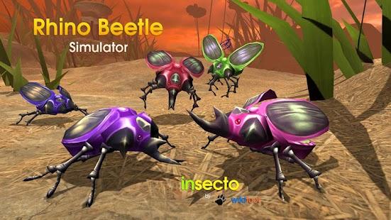 Rhino Beetle Simulator screenshot