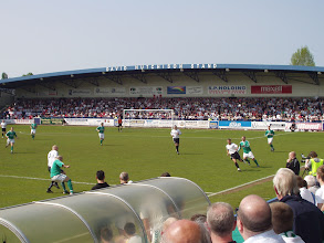 Photo: 28/04/07 v Burscough (Unibond League Premier Div) 1-2 -contributed by Mike Latham