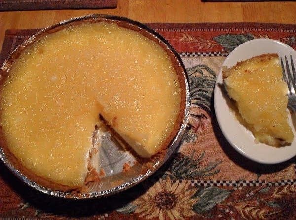 Spread pineapple filling over cheese, gentle. (You may have a little left.)  Return...