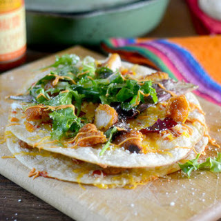 Sweet Chili Chicken Quesadillas Recipe