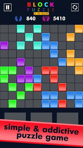 Block Puzzle Match 3 Game apktreat screenshots 1