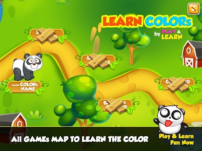 play learn colors games for kindergarten screenshot thumbnail
