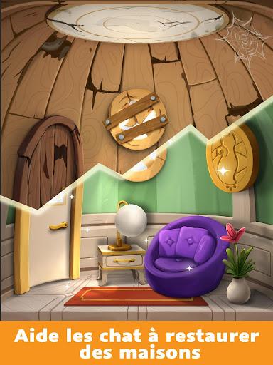 Design de Maisons pour chats : jeu de décoration APK MOD – Monnaie Illimitées (Astuce) screenshots hack proof 2