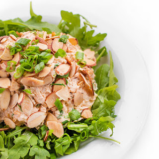Asian Chicken Salad with Toasted Almonds.