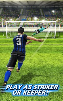 Fotbal Strike - Multiplayer Soccer APK screenshot thumbnail 8