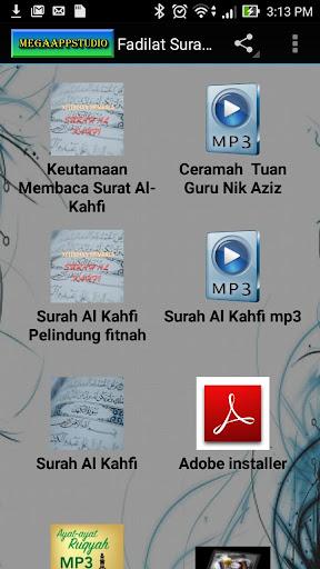Fadilat Surah Al Kahfi