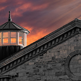 Citadel by Glen Bowes - Buildings & Architecture Public & Historical ( sky, turret, block, brick, building, architecture,  )
