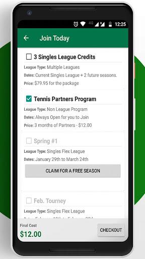 Tennis League Network App 3.18 screenshots 4