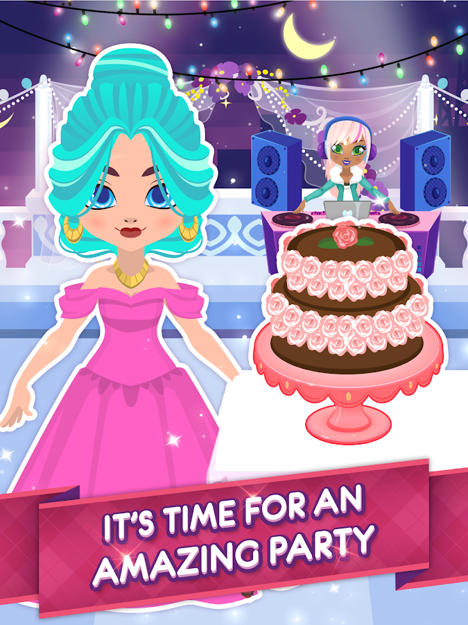 My Princess' Birthday - Create Your Own Party!- screenshot