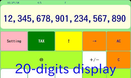 Atmark Calculator - náhled