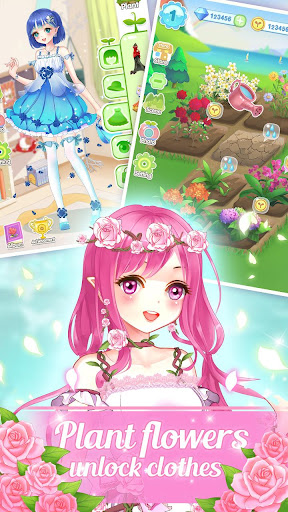 👗👒Garden & Dressup - Flower Princess Fairytale apklade screenshots 2