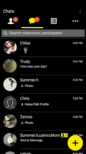 Simple-KakaoTalk Theme 7.0.0 screenshots 3