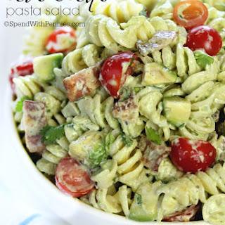Avocado Pasta Salad.