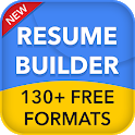 Resume builder free CV maker app curriculum vitae icon