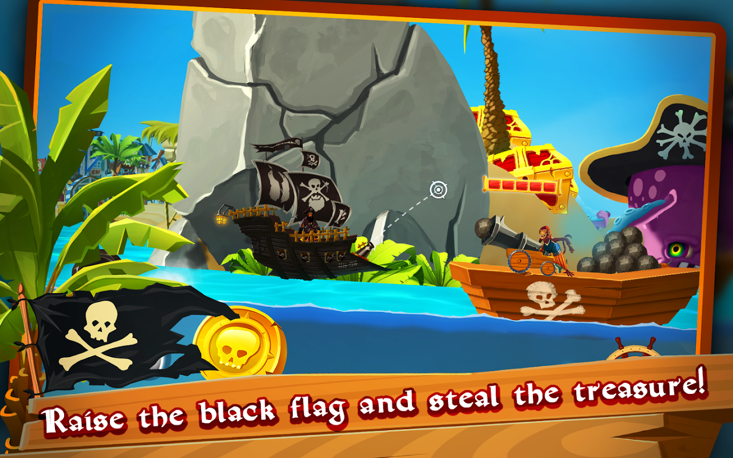 pirate ship shooting race android apps on google play