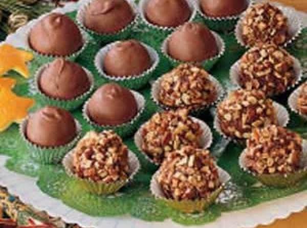Orange Chocolate Meltaways Recipe