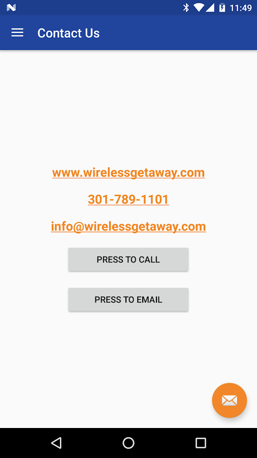 WirelessGetaway- screenshot