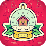 Christmas Kids Coloring Games Icon