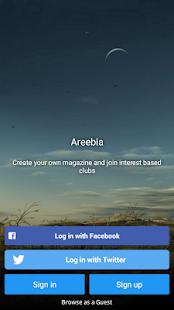 Areebia - náhled