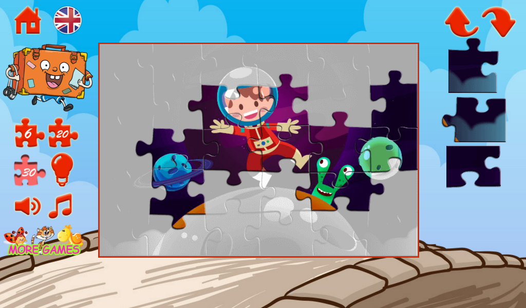 Cheerful puzzles- screenshot