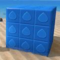 紋章ブロック・水
