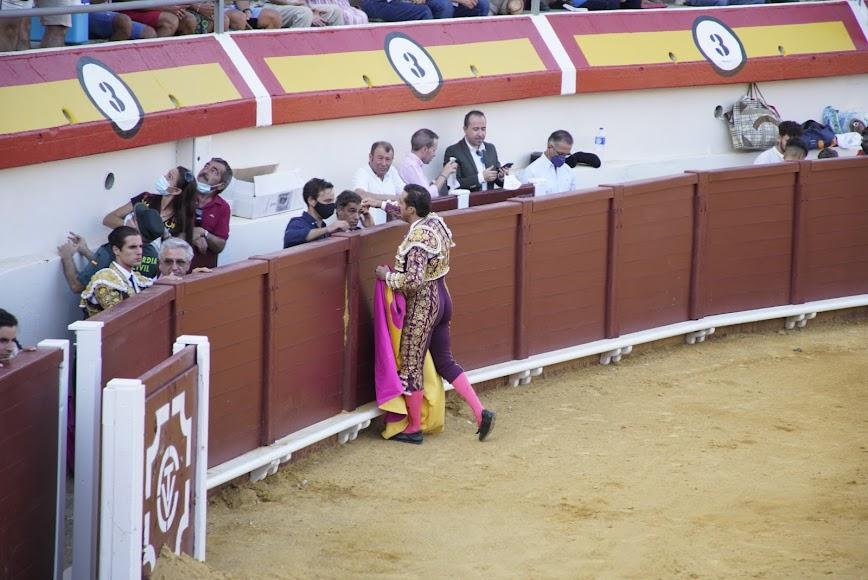 Corrida de toros de la Feria de San Cleofás.